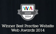 Winner in 2014 Web Awards