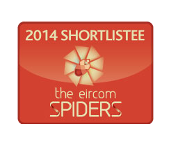 2014 Shortlistee in the eircom Spiders