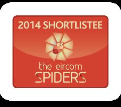 2014 Shortlistee in the eircom Spiders